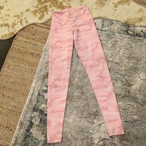 Onzie pink camo yoga pants